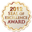 2012 Seal of Excellence award from Creative Child Magazine