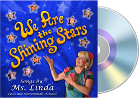We Are The Shining Stars CD by Linda Howard Hiserman